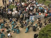 Hospital Celebrates 100th Anniversary with a Flash Mob