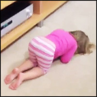 Adorable Kids Try to Play Hide and Seek