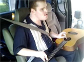 Blind, Autistic Man is a Gifted Singer and Guitar Player