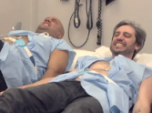 Christian Dads Experience What It Feels Like To Give Birth - LOL!