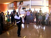 Bride and Groom Dazzle Their Guests With an Unforgettable Swing Dance