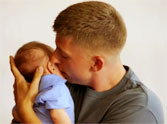Priceless Moment a Soldier Dad Meets His Baby for the First Time. Get Your Tissues.