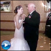 Wedding Guests With Surprise Dance - a History of Music! - Funny Video