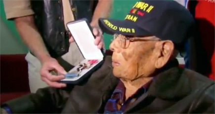 God Protected This Man During WWII and His Bravery is Finally Being Recognized