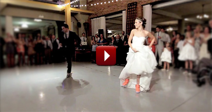 Watch This Fun And Family Oriented Surprise Wedding Dance