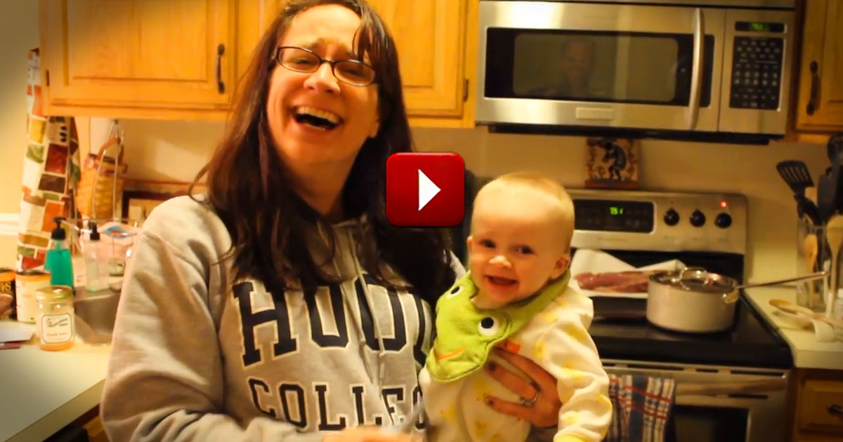 This Baby Giggles at the Funniest Thing. I Just Want to Put that Sound on an Endless Loop.