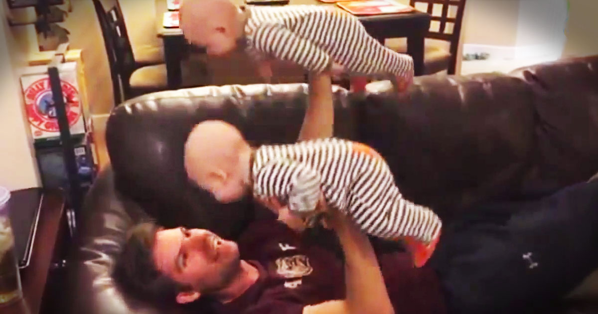 THIS Is Why God Gave Us Dads. My Heart Melted Just 12 Seconds In.  Awwww!