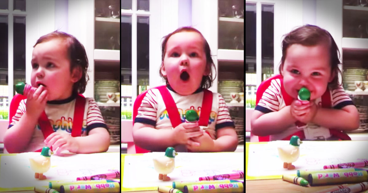 When This Sweet Baby Heard That Special Sound on The Radio She Went Nuts. And It Just Made My Day!