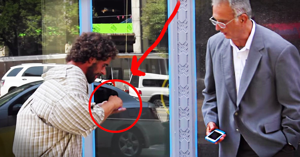 How People Treated This Homeless Man Will Surprise You. But Not The Way You Think--Shocking!