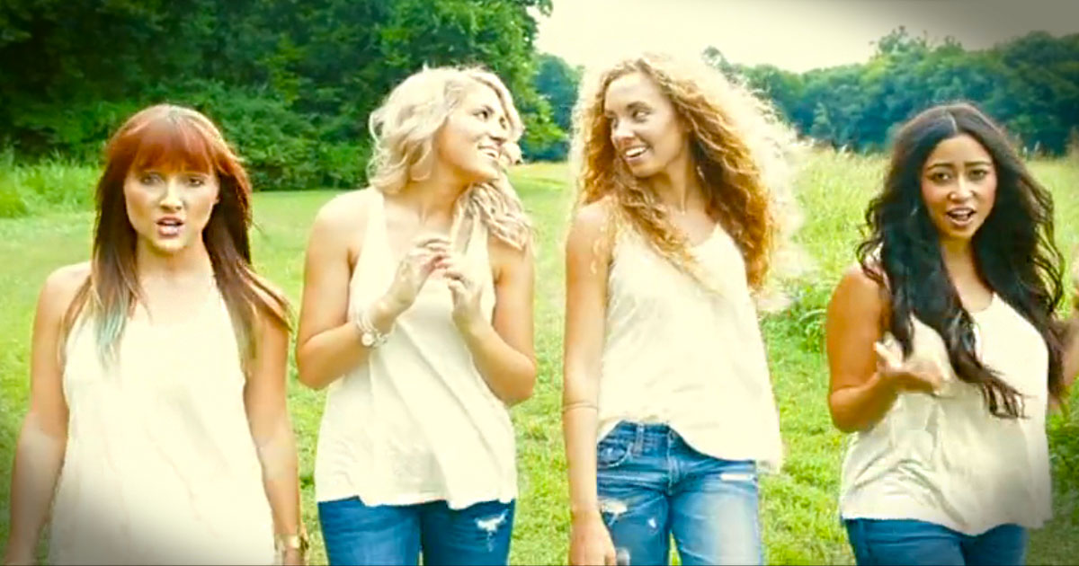 This Song Inspired Millions. And This Cover By Christian Girls Is POWERFUL!