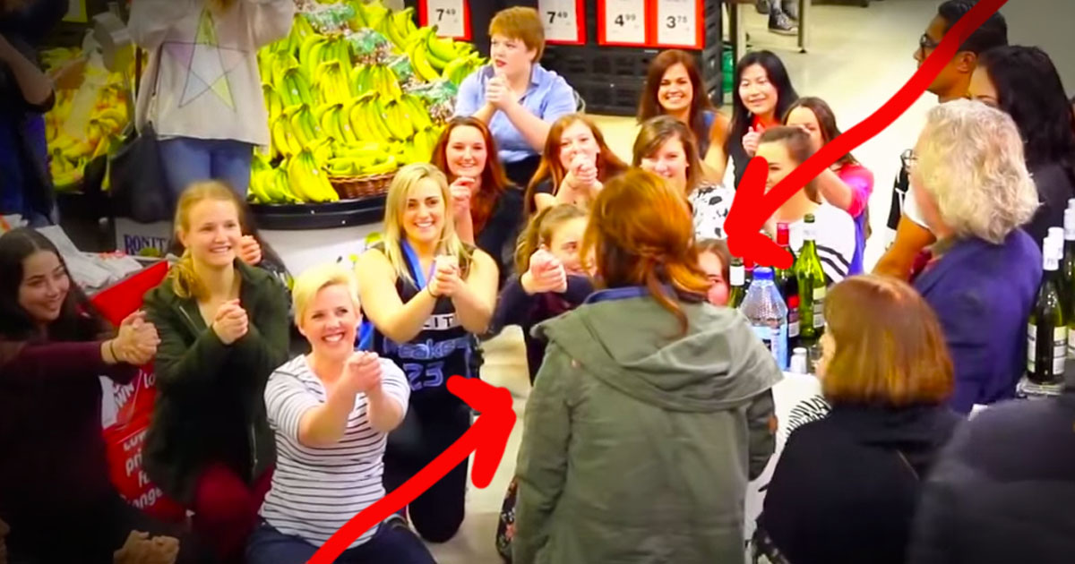This Is The Most Epic GROCERY STORE Surprise Ever! I Couldn't Have Loved The Ending More-Aww!