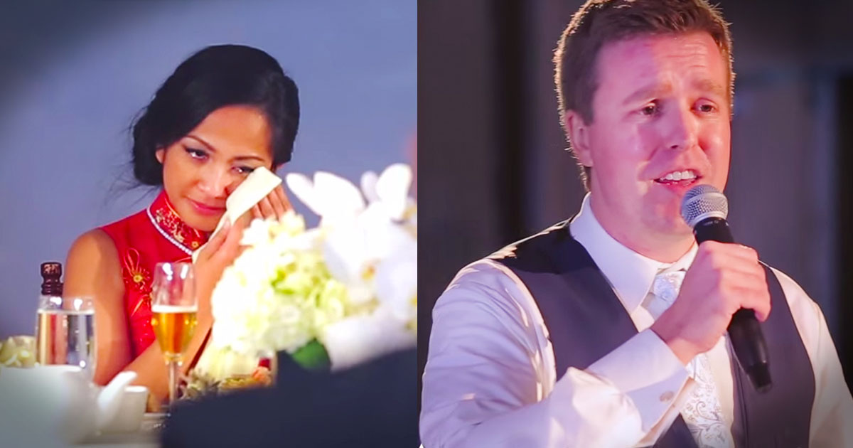 When They Interrupted The Best Man's Speech The Bride Cried. And Now I Can't Stop SMILING!