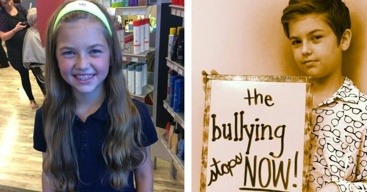 Girl Bullied for Donating Hair to Help Children Fighting Cancer