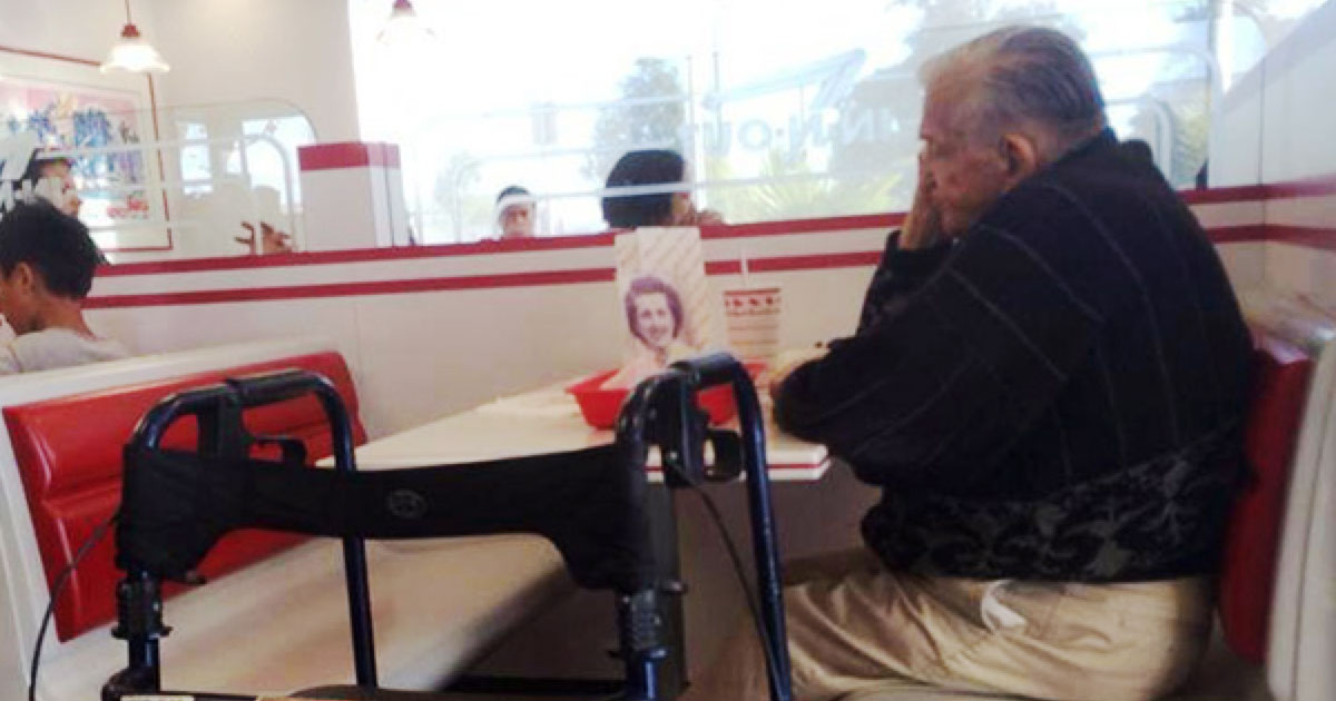 A Widower Takes His Wife's Picture Everywhere & Their Love Story Explains Why He Doesn't Want to Be Alone