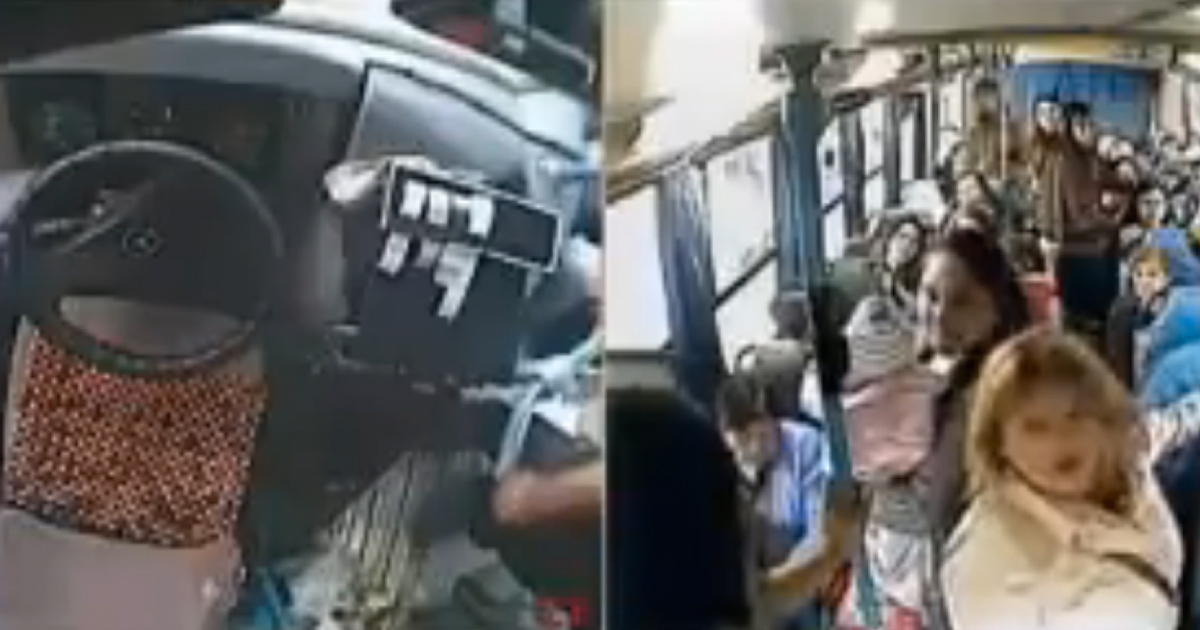 Bus Driver Gives up Seat for a Mother and Baby