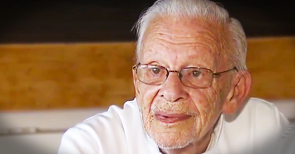 This 90-year-old WWII Veteran Was Just Thrown In Jail. When You Hear WHY You'll Be Outraged!