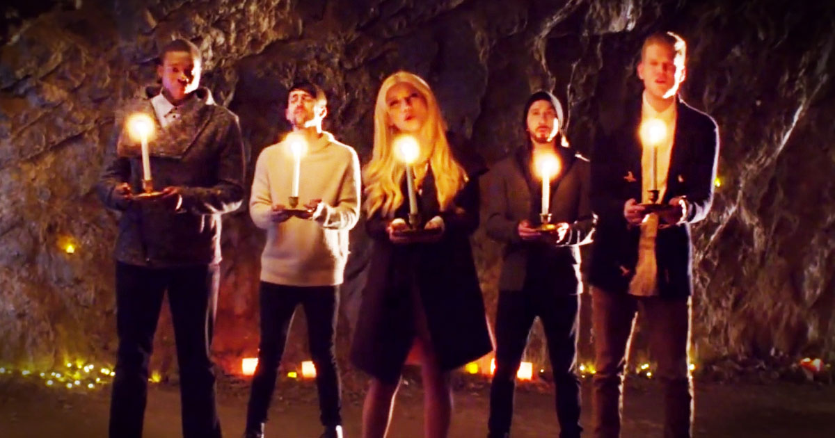 """""""Mary, Did You Know?"""" by the group Pentatonix 