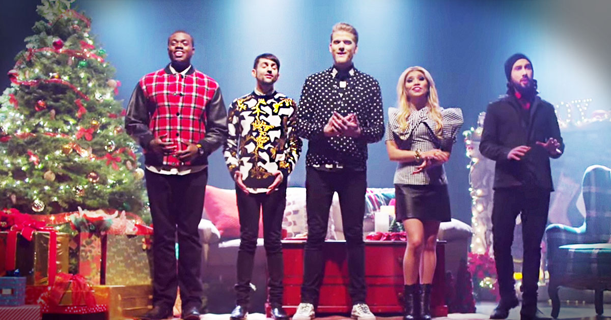 Pentatonix Thats Christmas To Me.Get Ready To Get Chills From This A Cappella Christmas