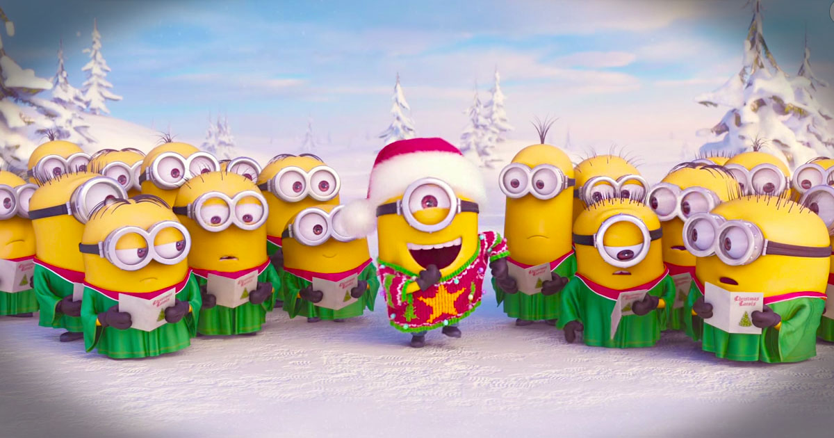 Minions Merry Christmas 2015