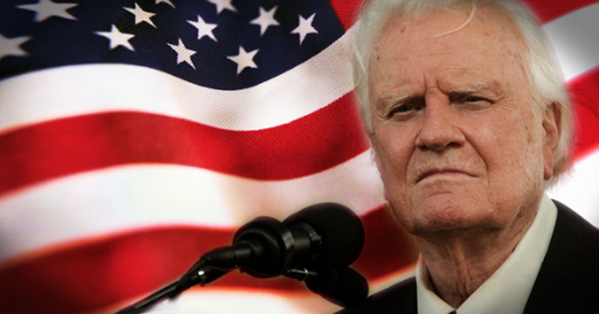 When Billy Graham Prays, People Listen And God Hears