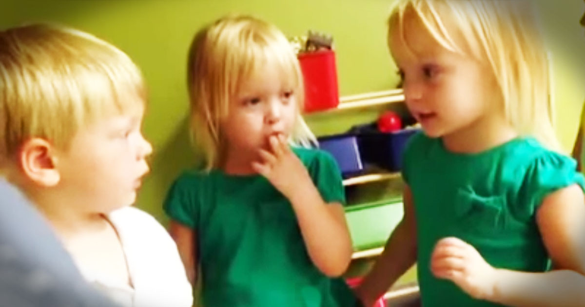 Kids Adorable Argument Over The Weather--Awww!
