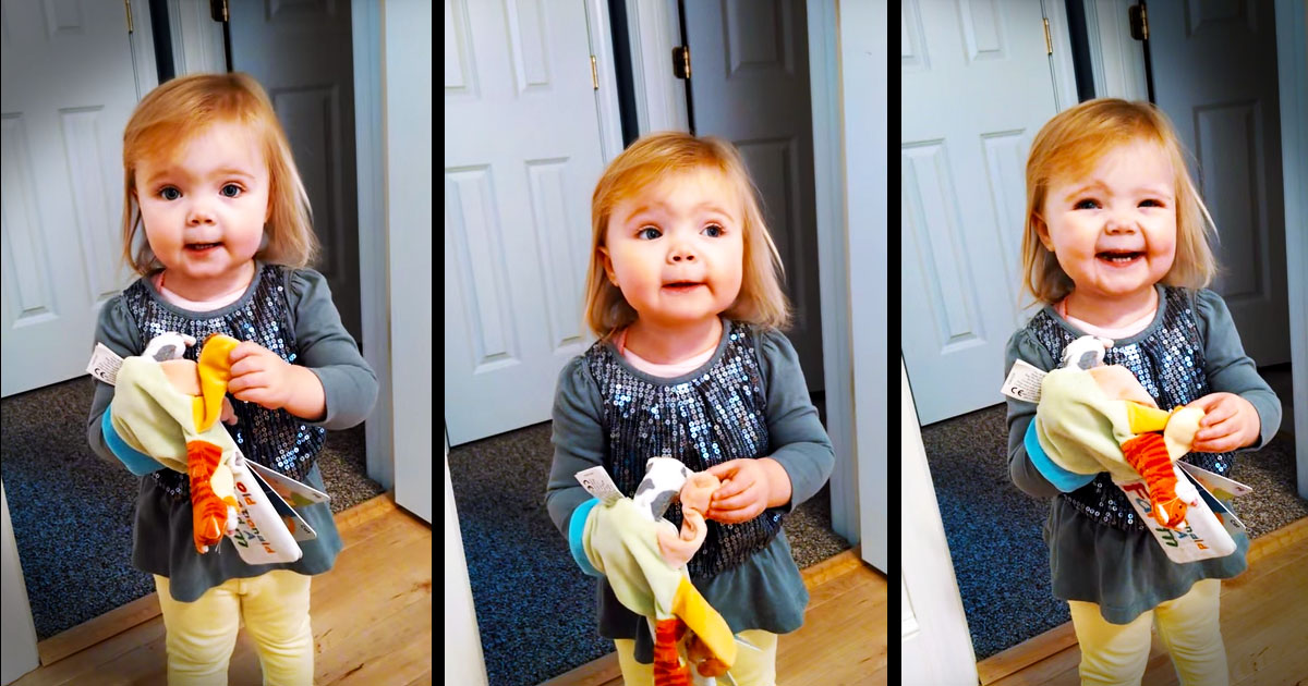 Toddler's Adorable Solo Will Make Your Day!