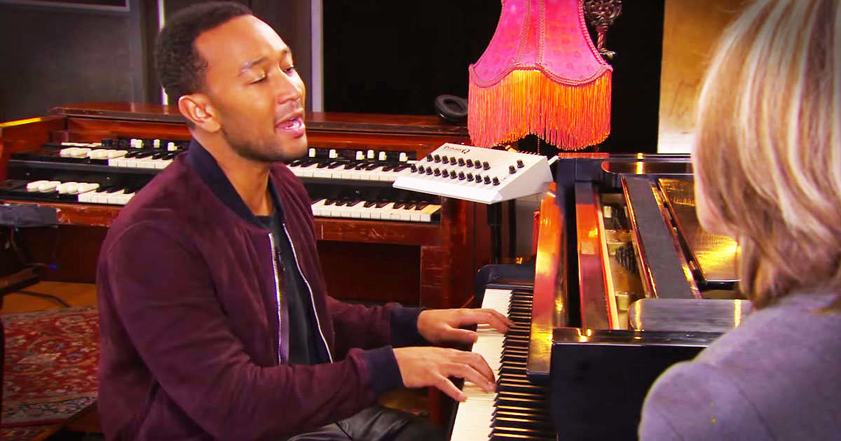 John Legend's 'Amazing Grace' Brought Me To My Knees!