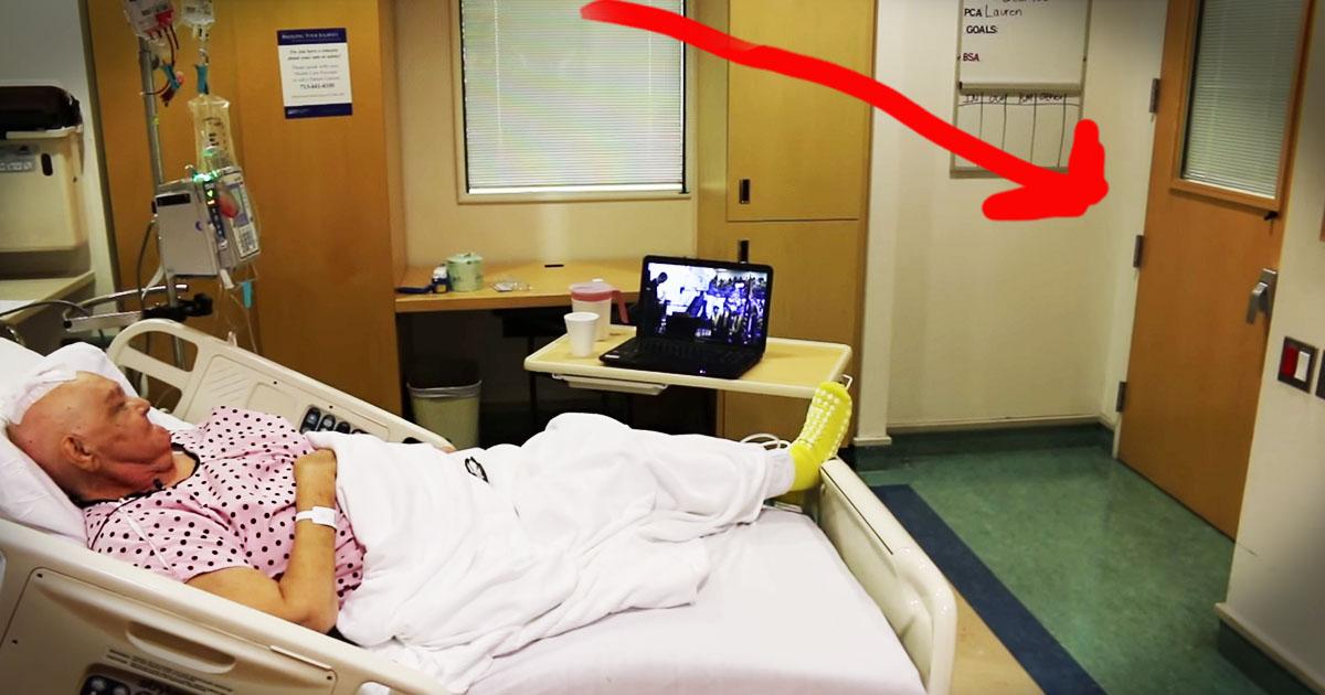Grandma's Amazing Surprise Hospital Visitor Brings The TEARS!