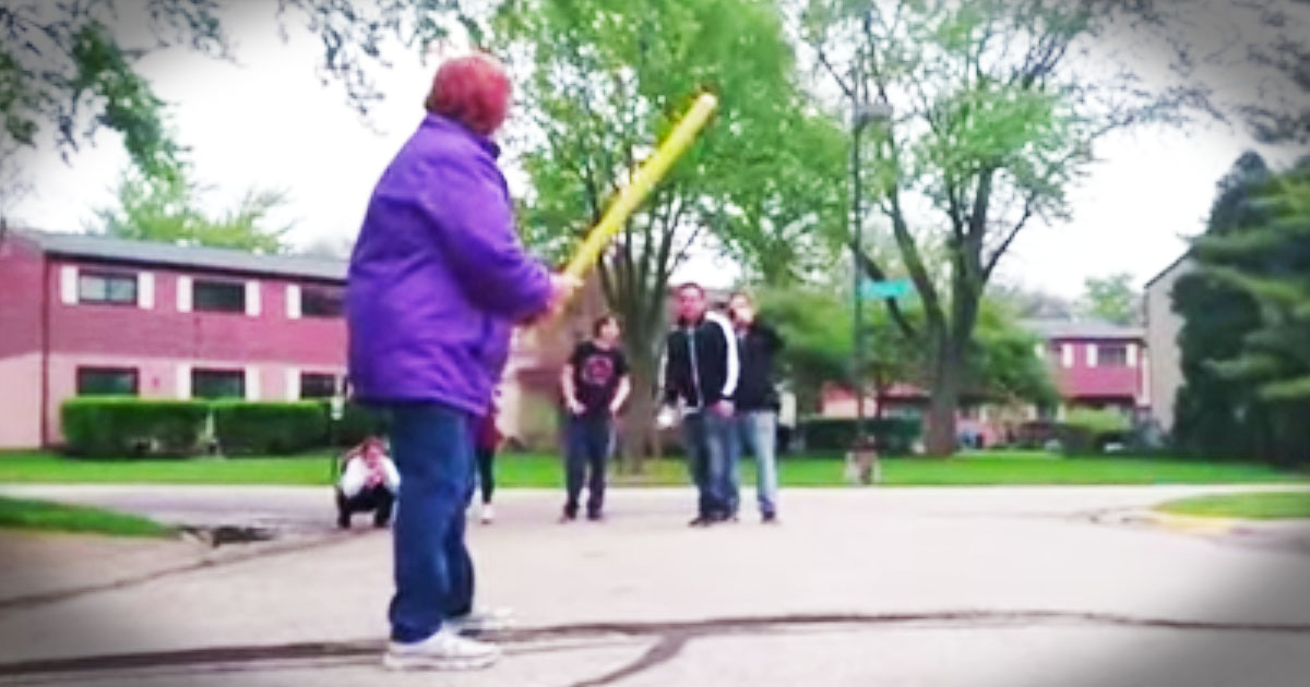 Granny Steps Up To The Plate And Surprised EVERYONE!