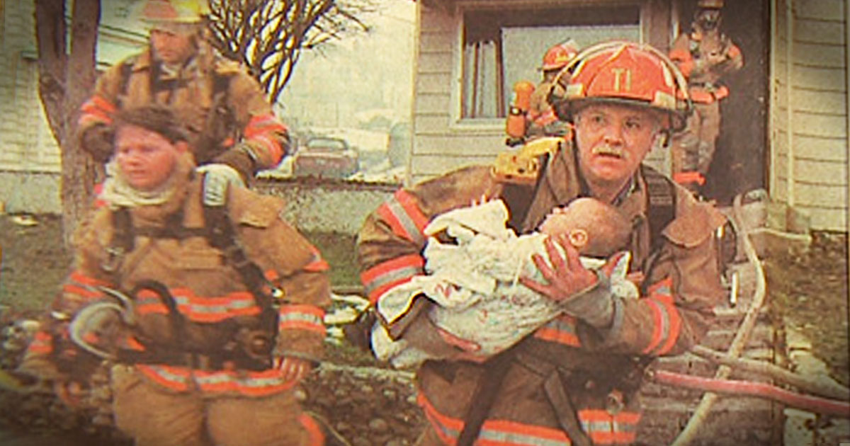 This Firefighter Saved A Baby 17 Years Ago. But What's Happening Now Is So Heartwarming!
