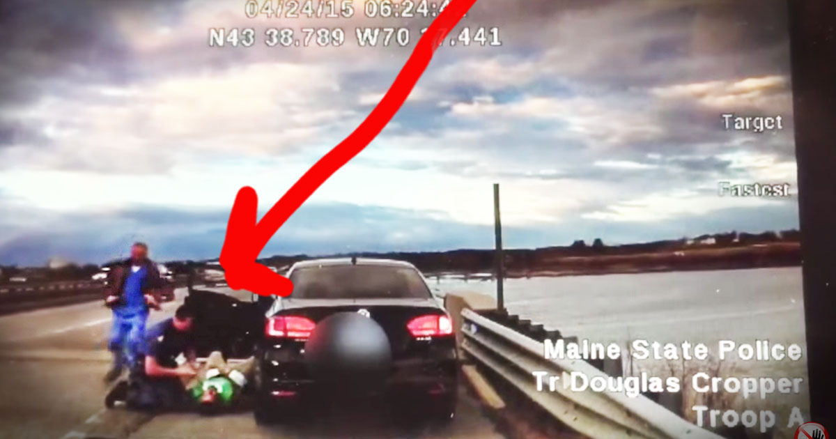 What Happened After This Trooper Pulled Over A Speeder Was A NAIL-BITER!