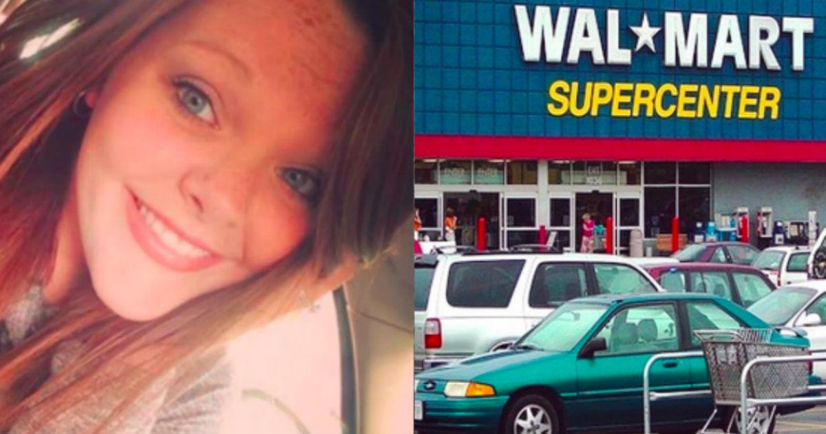 Girl Helps Veteran In Wheelchair At Walmart