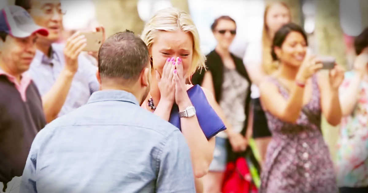 This Emotional Flash Mob Proposal Had Me In TEARS!