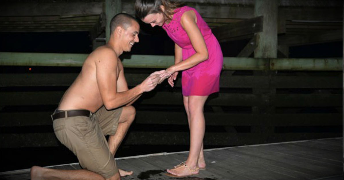 Disaster Struck After He Got Down On One Knee. Then Strangers Came To His Rescue!
