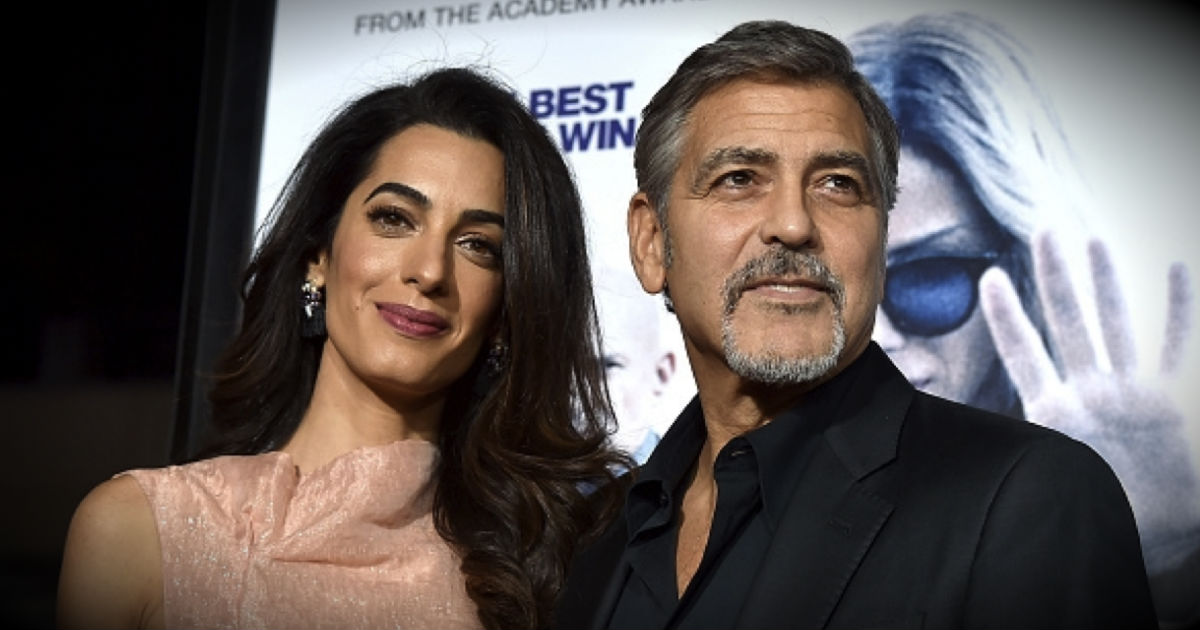 George Clooney And Wife Rescues Dog From Shelter