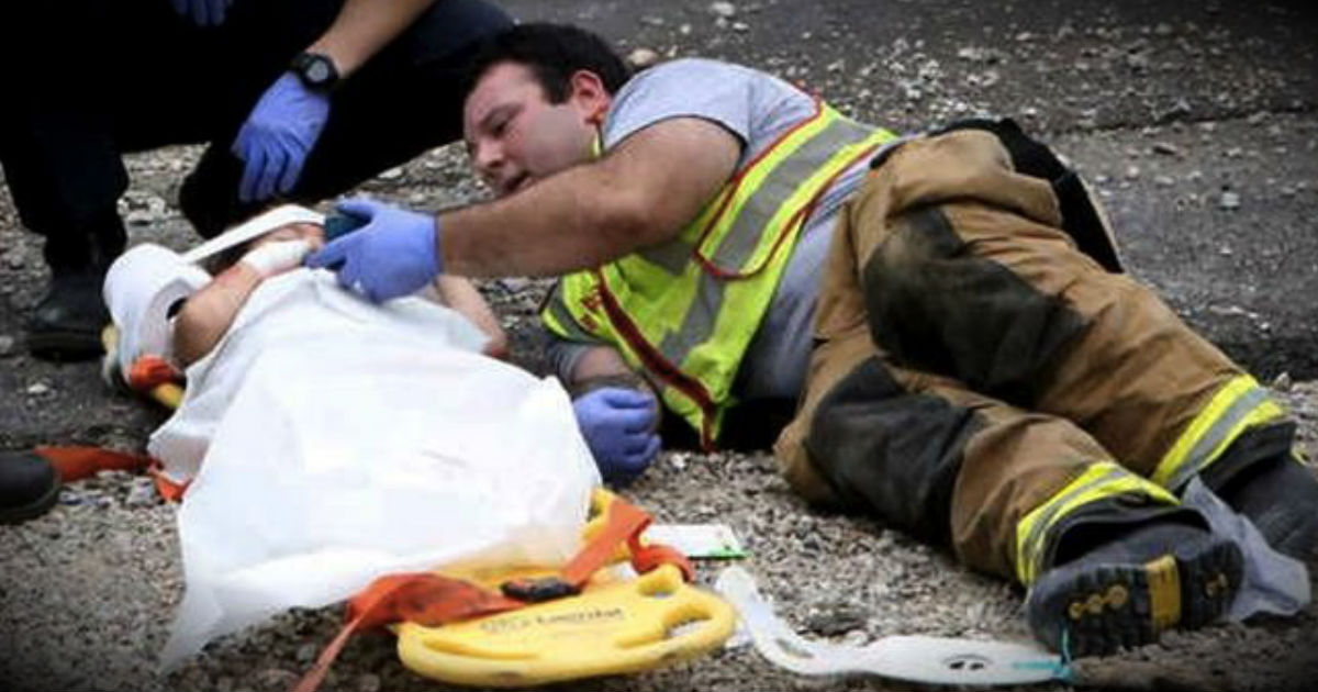 What This Firefighter Did For A Terrified Little Boy Had -8243