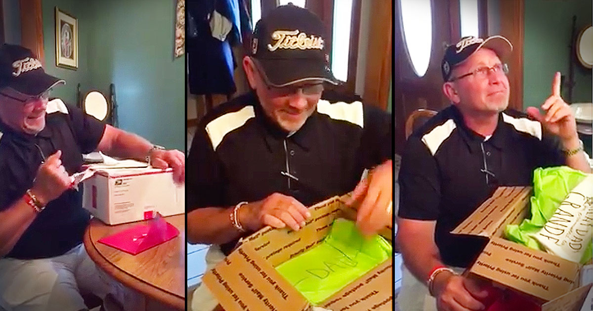 Dads Birthday Gift Turns Into Sweetest Pregnancy Announcement
