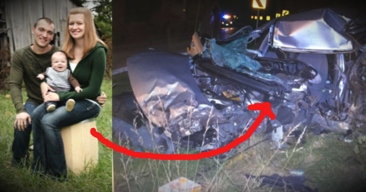 Widow Posts About How A Drunk Driver Killed Her Husband And Son