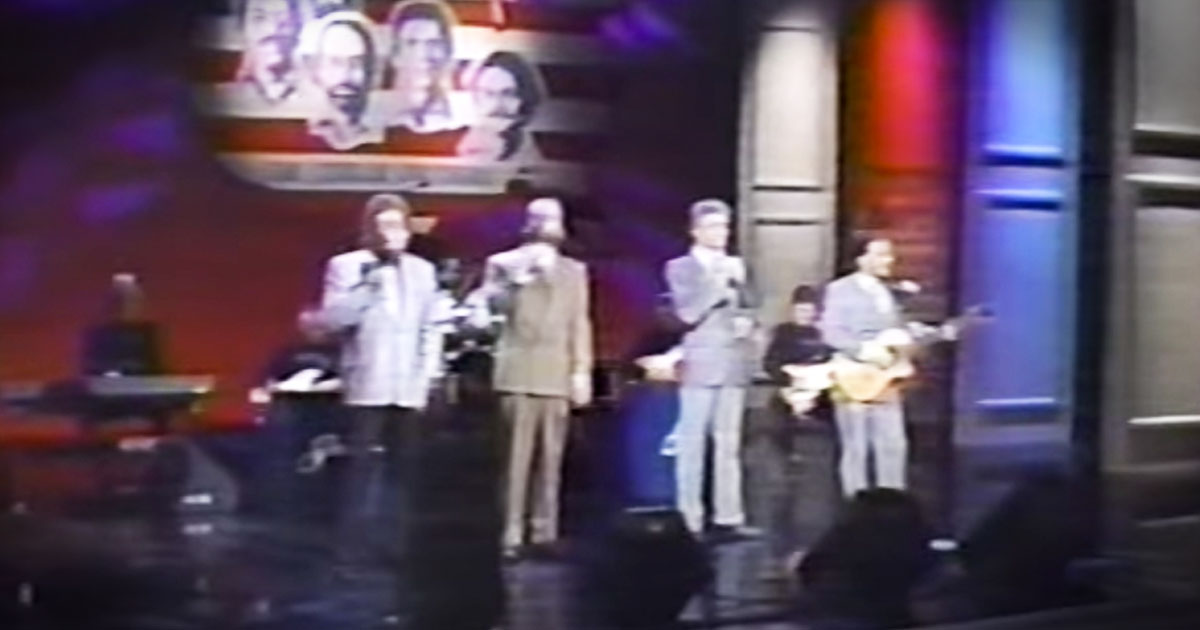 This Statler Brothers' Throw Back Had Me In Tears