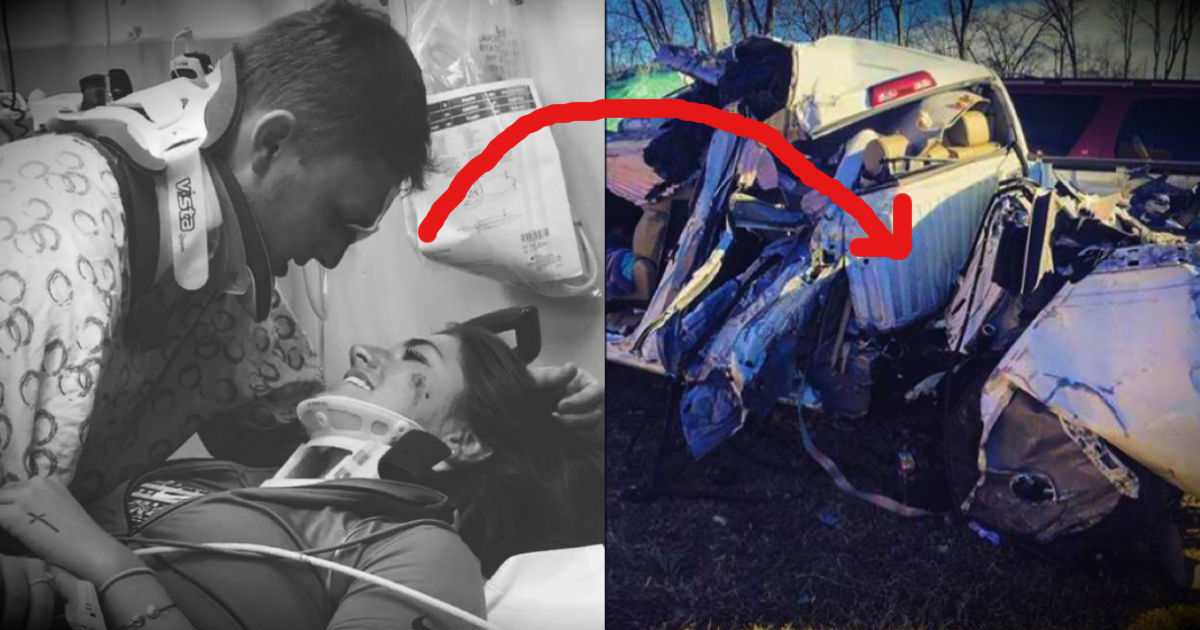 A Young Couple Survives Terrible Crash And Praises God