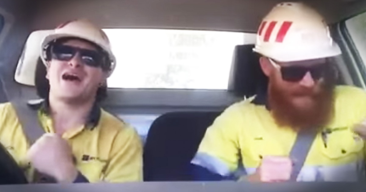 Tough Guys Will Crack You Up With Unexpected Jam Session