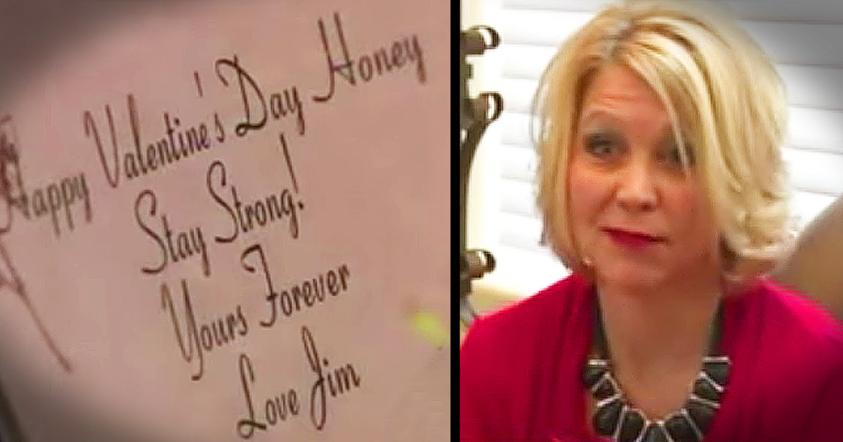 Husband Sends Wife Valentine's Day Flowers After Death