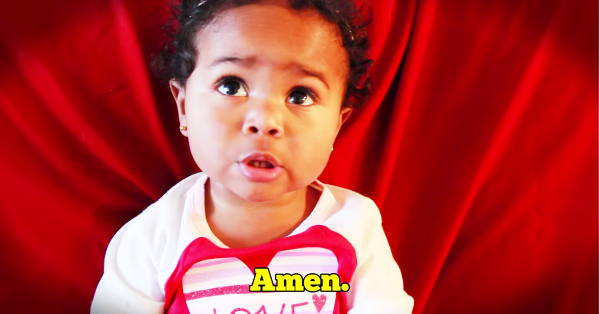 Toddler's Interview About Love Will Crack You Up