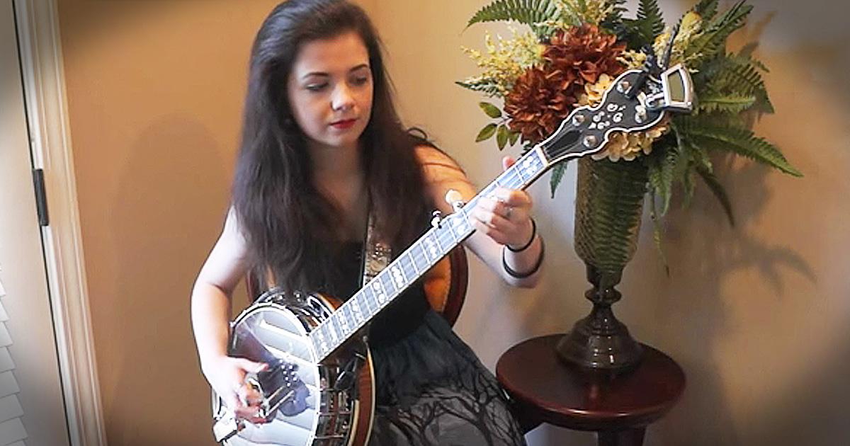 Banjo Rendition Of 'Foggy Mountain Breakdown' Is Bluegrass Goodness!
