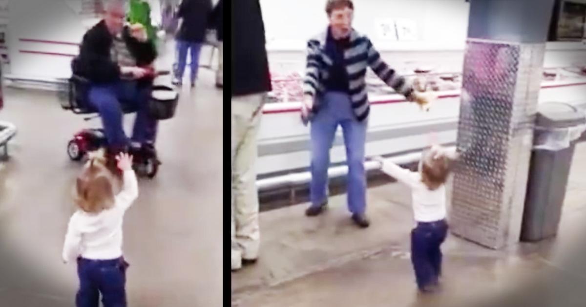 Little Girl In The Grocery Store Loves Like Jesus