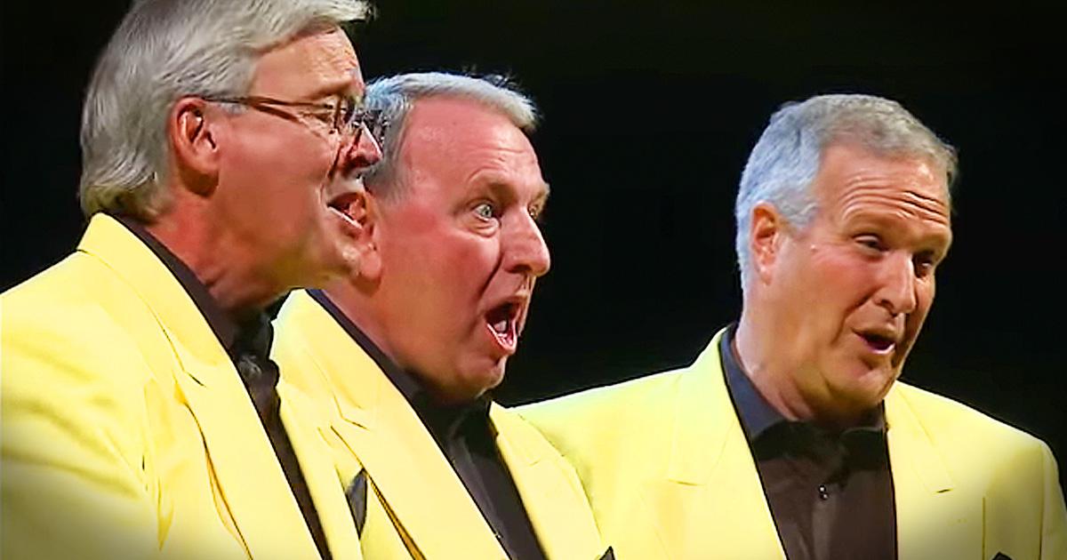 Barbershop Quartet Performance Of 'Put Your Head On My Shoulder' Takes Me Way Back!