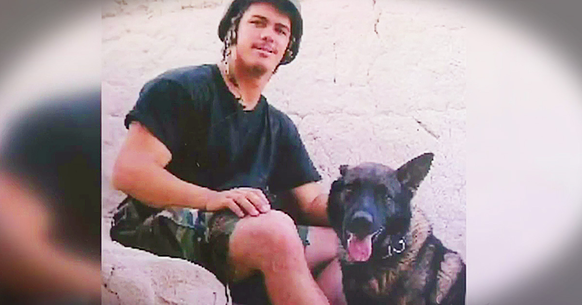 Mom's Adopts Late Son's Marine K-9 Partner