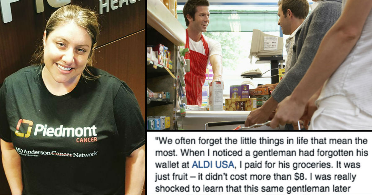 She Offered To Pay For A Stranger's Groceries. How He Said 'Thank You' Will Take Your Breath Away!