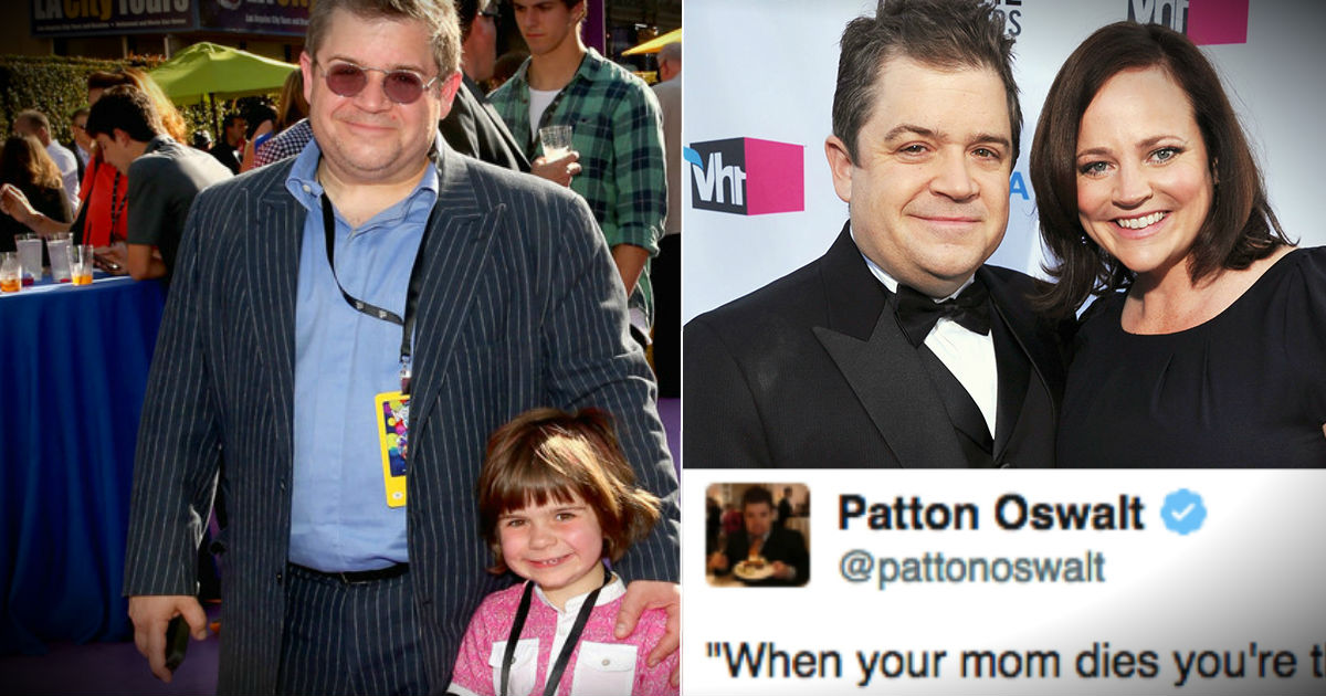 Patton Oswalt's Daughter Has Wise Words About Mom's Death