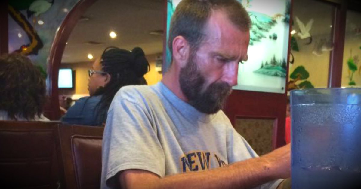 Buffet Refuses A Homeless Man Water, So A Woman Buys Him A Meal